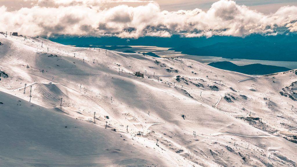 Esquiar en el Cerro Catedral